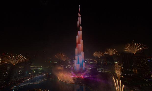 Dubai Fireworks 2016 (2)