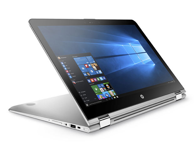 HP ENVY x360 15.6_Media Mode, Front Right Facing