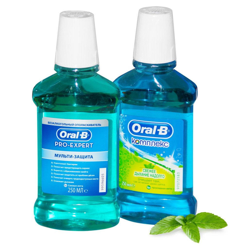 Ополаскиватели для рта ORAL-B
