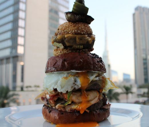 1. The Burj Khalifa of Burgers at Firebird Diner