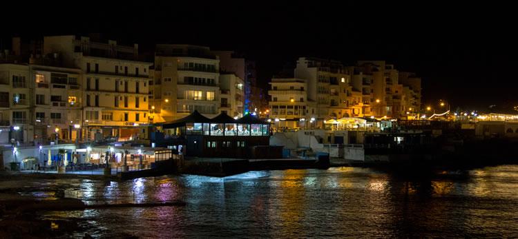 Ночная жизнь в Мальте