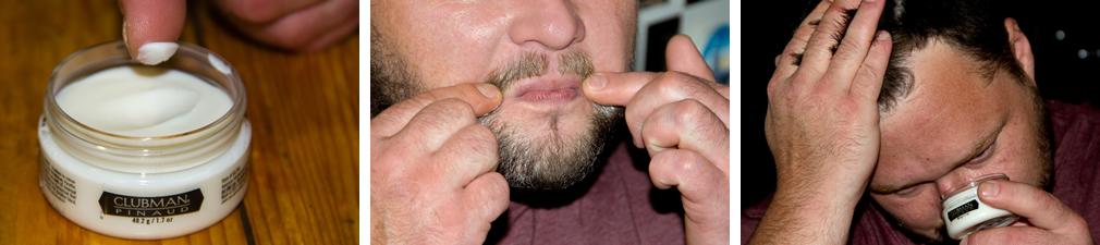 Моделирующая паста – фиксатор для бороды и усов Clubman Pinaud